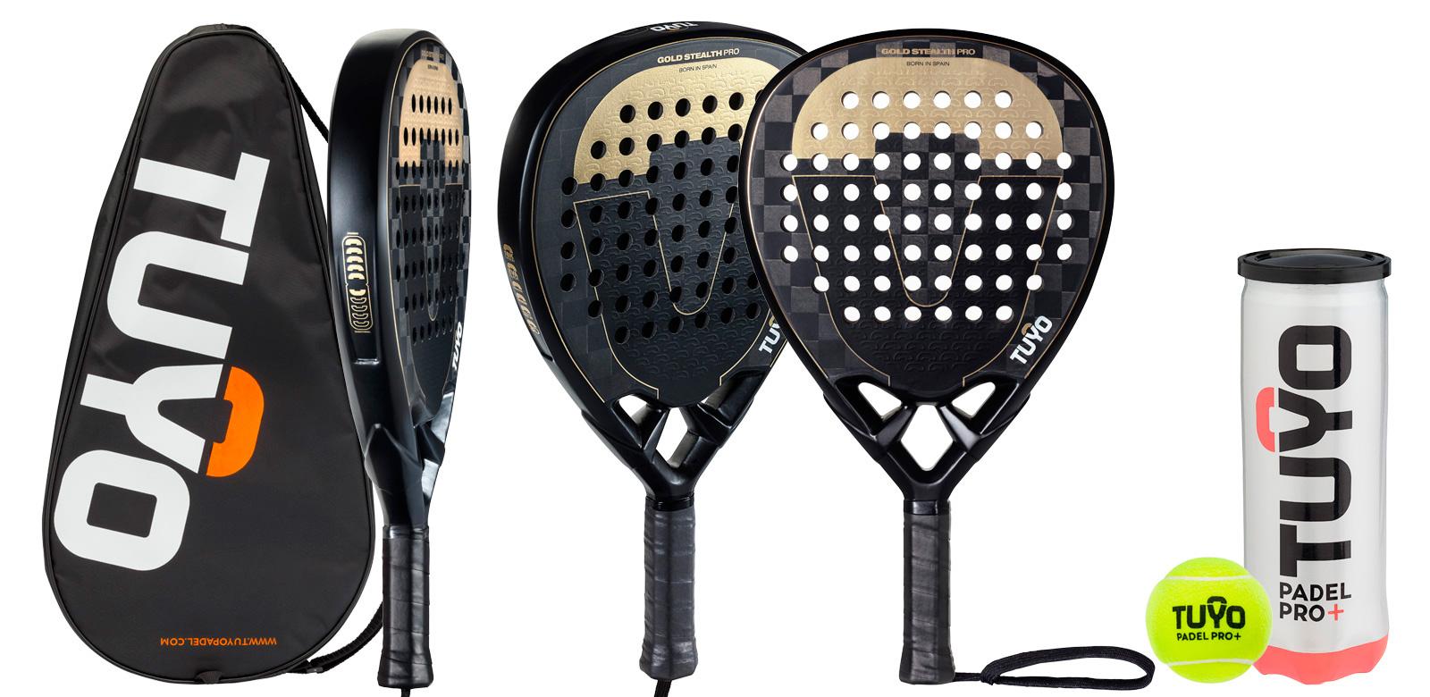 fotografía de raqueta de padel