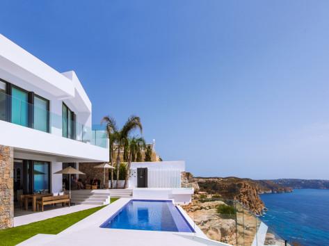 fotografía inmobiliaria villa de lujo